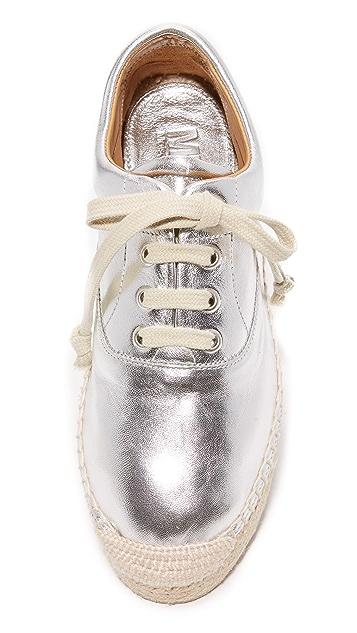 MM6 Espadrille Platform Sneakers