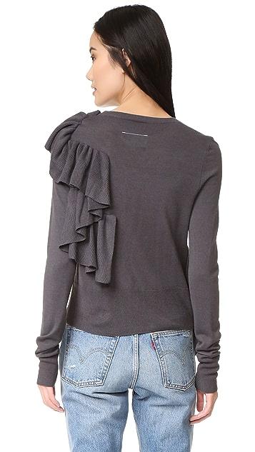 MM6 Ruffle Sweater