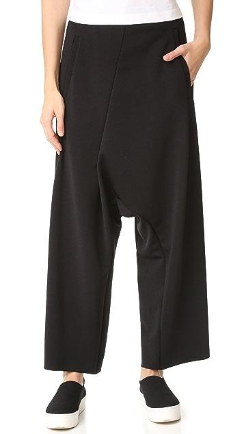 MM6 Cropped Asymmetrical Pants