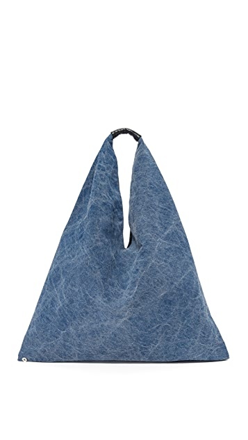 MM6 Denim Hobo Bag