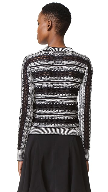 Maiyet Long Sleeve Crew Neck Sweater
