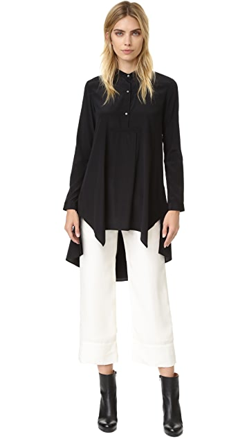 Maiyet High / Low Caftan Shirt