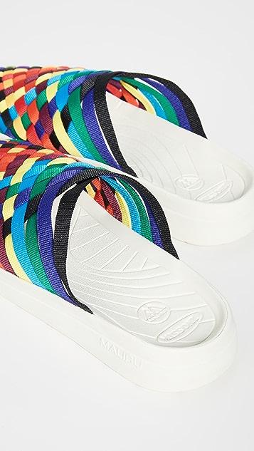 Malibu Sandals x Missoni Colony Mules