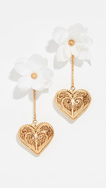 Mallarino Antonia Blossom Earrings