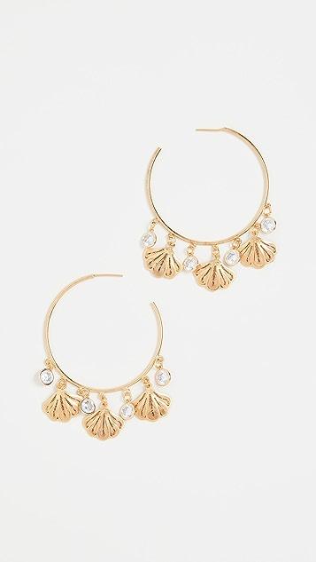 Mallarino 贝壳圈式耳环