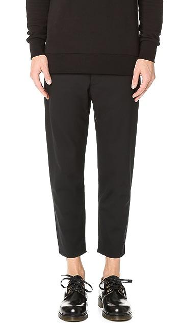 Matthew Miller Marlboro Cropped Trousers