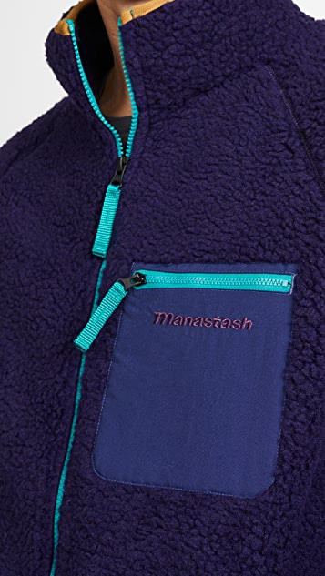 Manastash Windproof Fleece Mt Gorilla Jacket