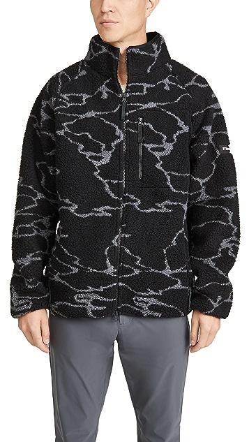 Manastash Windproof Lithium Fleece Printed Jacket