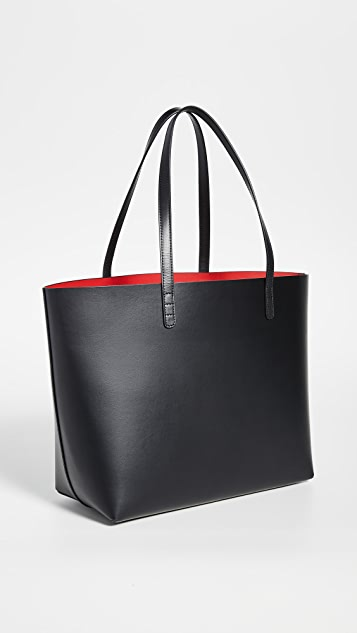 Mansur Gavriel Большая объемная сумка с короткими ручками