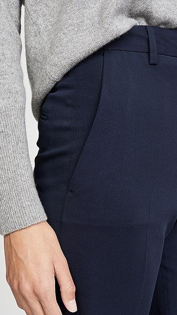 Mansur Gavriel 修身羊毛直筒长裤