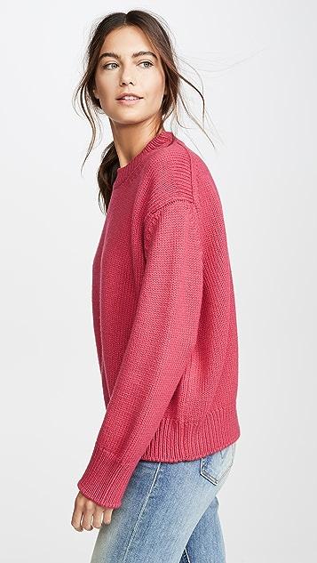 Mansur Gavriel Wool Oversized Crew Sweater