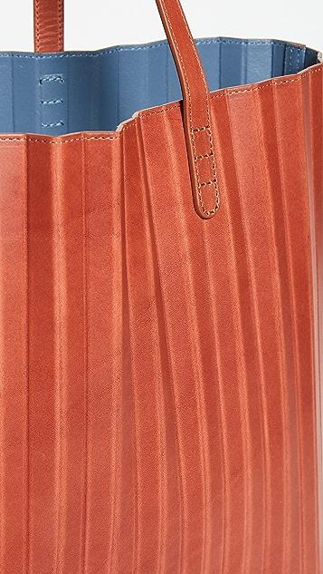 全新经典单品 裥褶手提袋