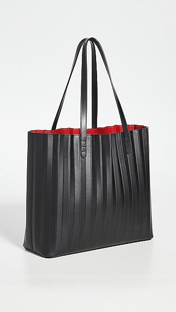 Mansur Gavriel Объемная сумка с короткими ручками и складками