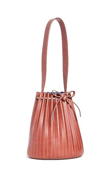 Mansur Gavriel Pleated Bucket Bag