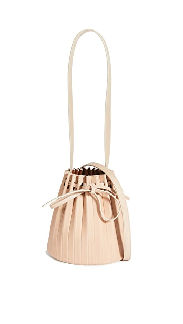 Mansur Gavriel Mini Pleated Bucket Bag