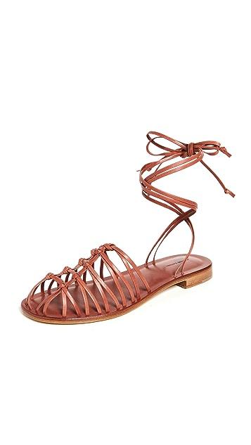 Mansur Gavriel Flat Mignon 平底凉鞋