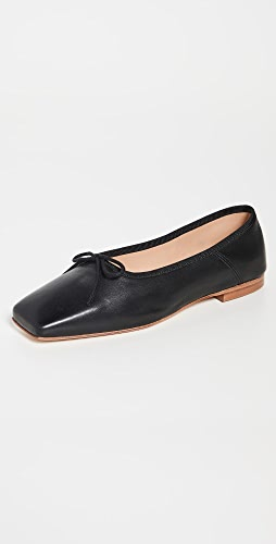 Mansur Gavriel - 方形芭蕾舞平底鞋