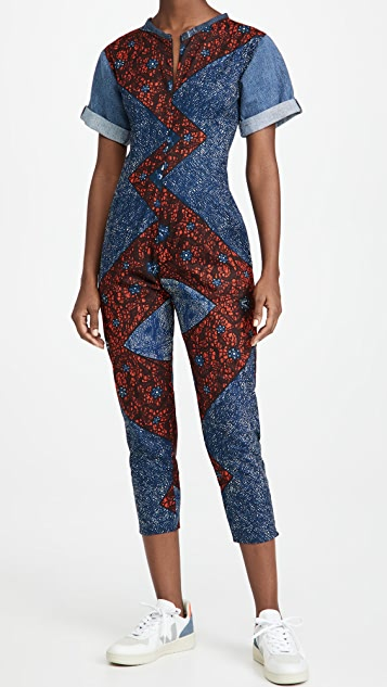 Mangishi Doll Congo Mix Jumpsuit