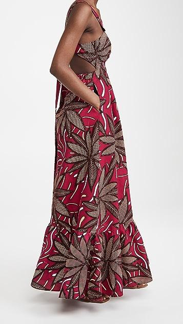 Mangishi Doll Amina Maxi Dress