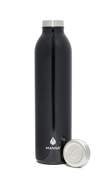 Manna 20oz Stainless Retro Water Bottle