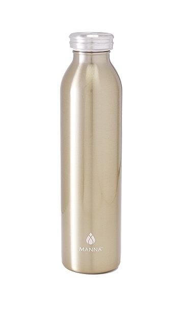 Manna 20oz Stainless Retro Water Bottle