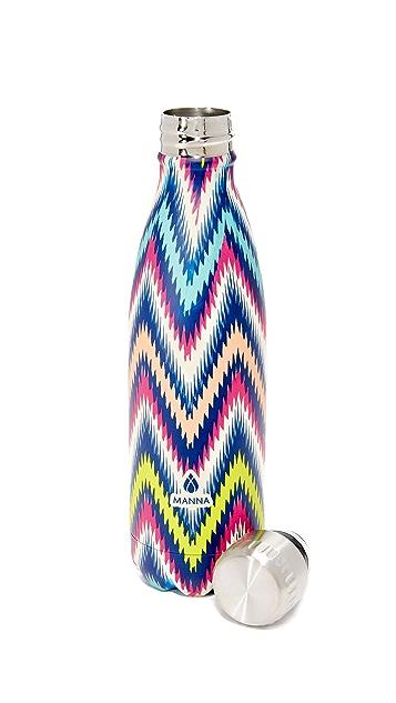 Manna 17oz Vogue Multi Zigzag Water Bottle