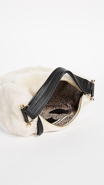 MANU Atelier Shearling Micro Fernweh Bag