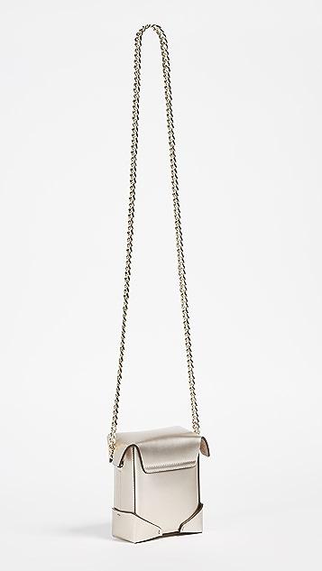 MANU Atelier Micro Pristine Box Bag with Chain