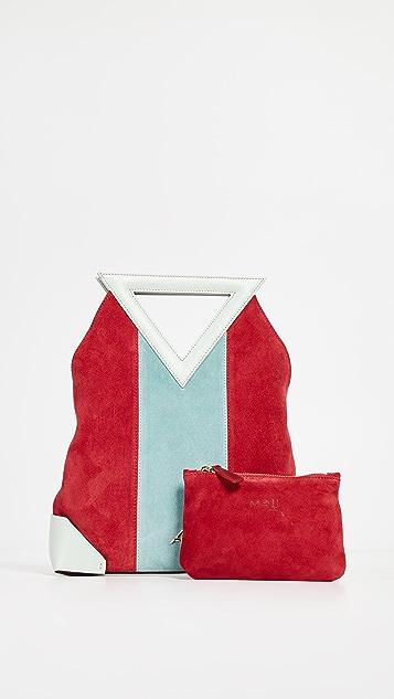 MANU Atelier Triangle Strap Tote Bag