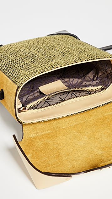 MANU Atelier Mini Pristine Combo Tweed Box Bag