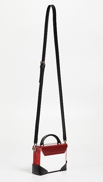 MANU Atelier Micro Bold Combo Top Handle Bag