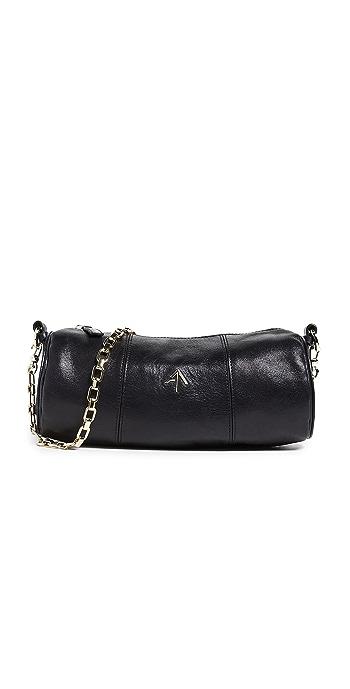MANU Atelier Cylinder Shoulder Bag - Black