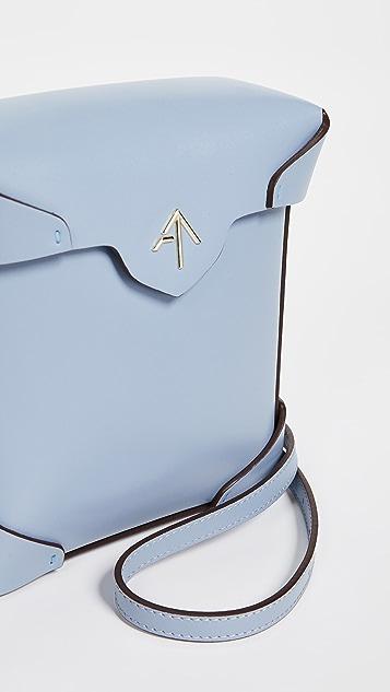 MANU Atelier Миниатюрная объемная сумка Pristine