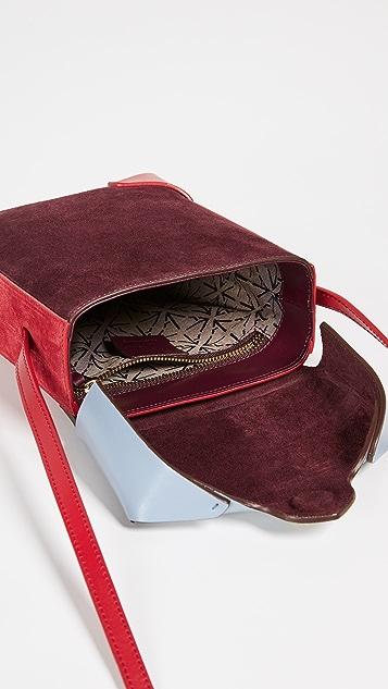 MANU Atelier Миниатюрная объемная сумка Pristine Combo