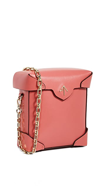 MANU Atelier Mini Pristine Chain Box Bag
