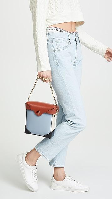 MANU Atelier Mini Pristine Combo Chain Box Bag