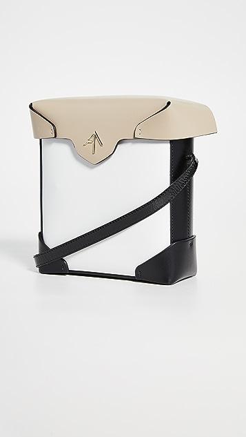 MANU Atelier Миниатюрная комбинированная сумка Pristine