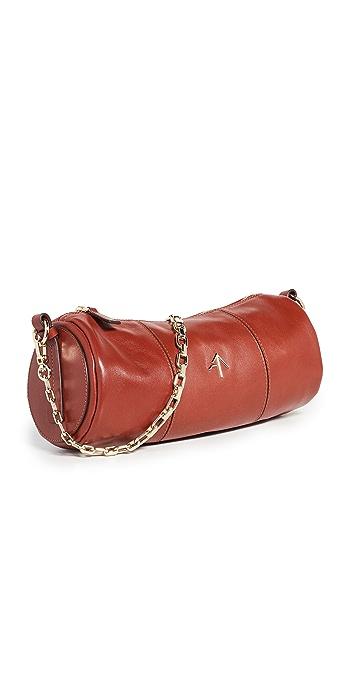 MANU Atelier Cylinder Shoulder Bag - Redbole