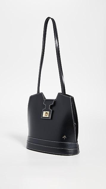 MANU Atelier Объемная сумка с короткими ручками Paris