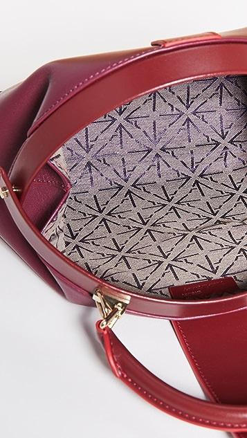 MANU Atelier Demi 织带包