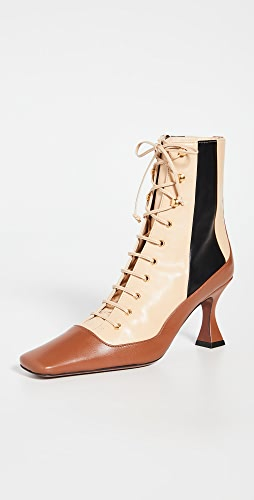 MANU Atelier - Duck Lace Up Boots