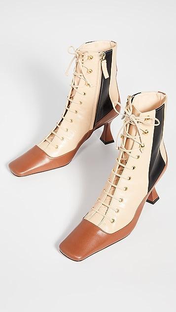 MANU Atelier Duck 系带靴