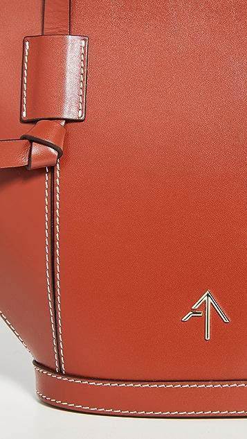 MANU Atelier Объемная сумка с короткими ручками Mulan
