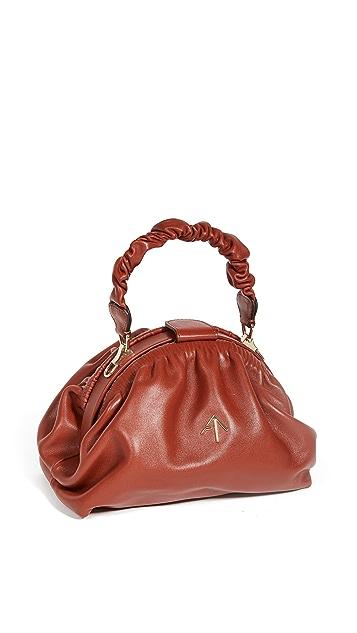 MANU Atelier Ruched Demi Bag