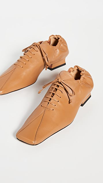 MANU Atelier XX 系带帆布休闲鞋