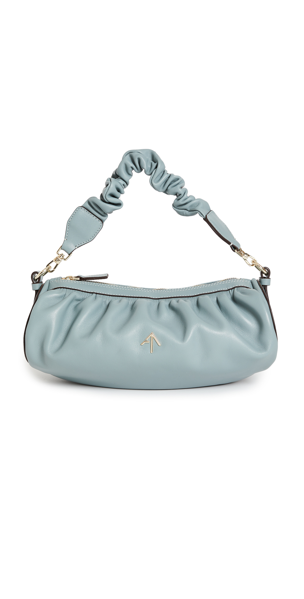 MANU Atelier Ruched Cylinder Chain XX Bag
