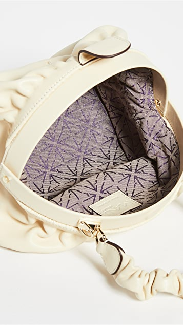 MANU Atelier Ruched Demi XX Bag