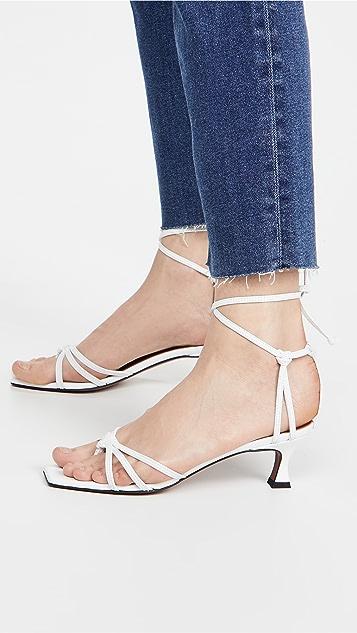 MANU Atelier 蕾丝凉鞋