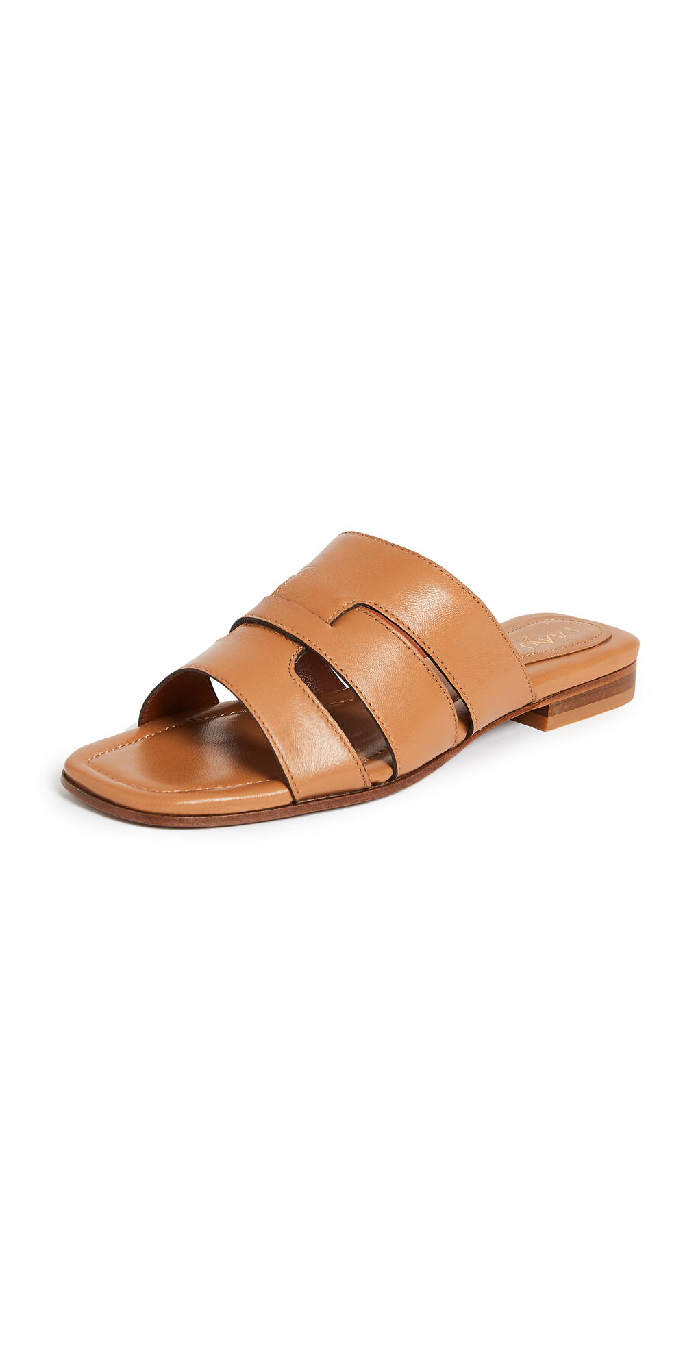 MANU Atelier Woven Leather Slipper Sandals