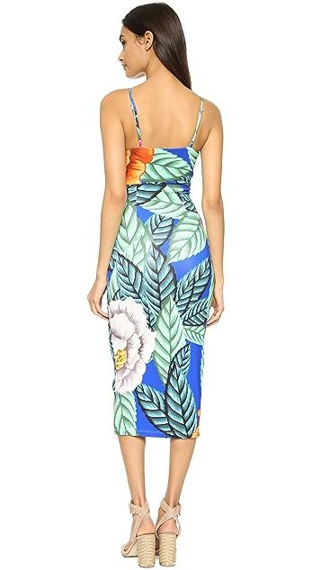 Mara Hoffman Flora Tie Front Dress